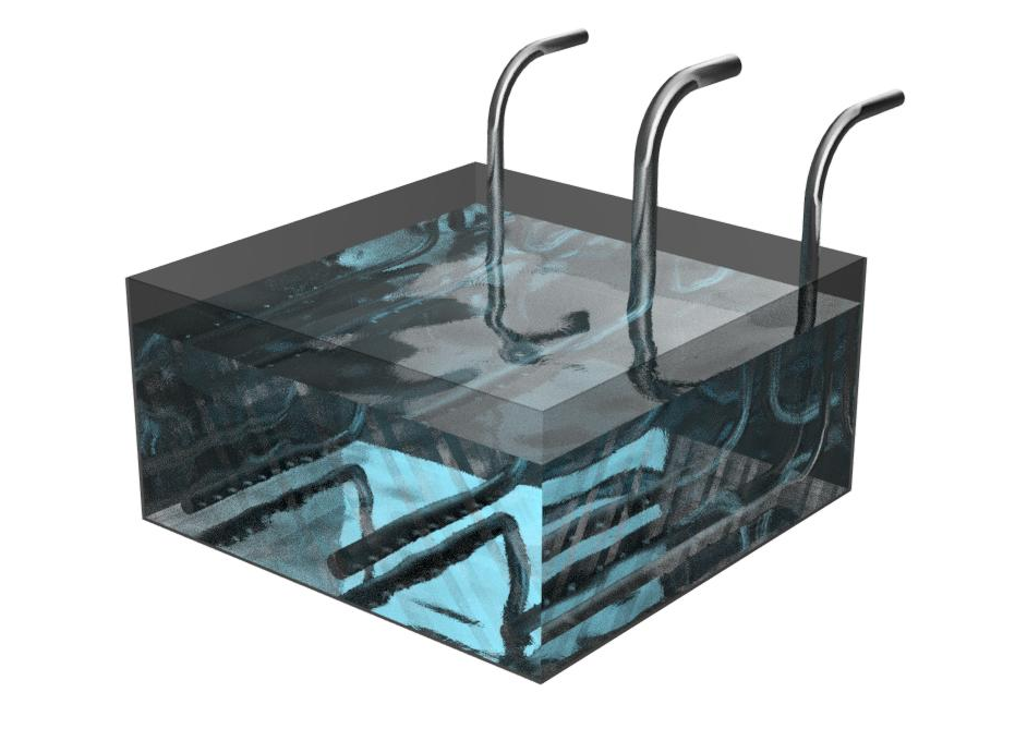 CFD analysis of the flow in an agitation bath with jets