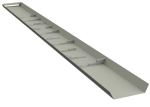 Riviere artificielle de canoe kayak pour modelisation