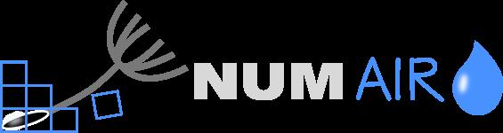 NUMAIRO : Etudes – Simulation CFD – Mécanique des fluides et thermique Retina Logo