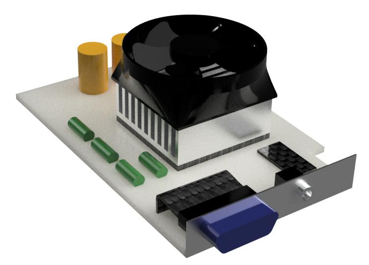Carte électronique – Analyse thermique